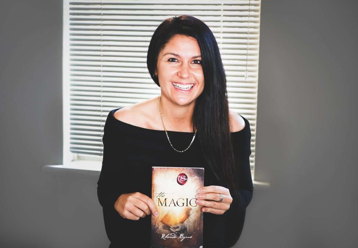 kali holding the book the magic